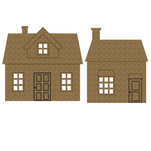 Large House Set 2 - Dollhouse Shingles
