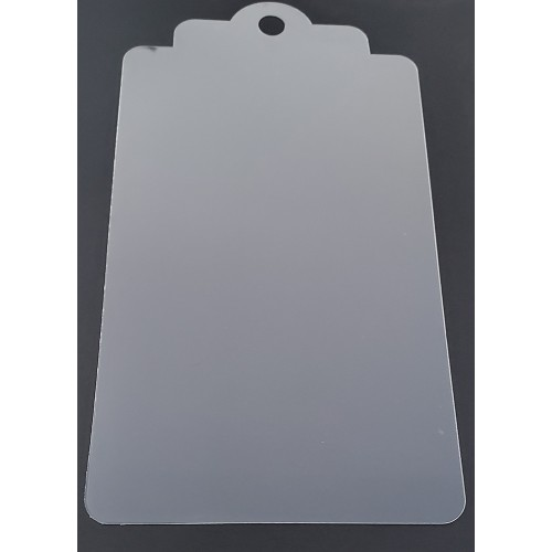 Clear Large Tag 2 - Clear Acrylic