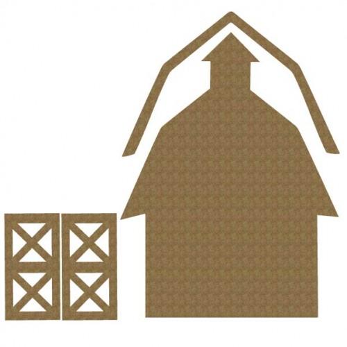 Barn - Dollhouse Shingles