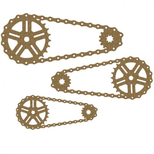 Bicycle Chains set - Steampunk