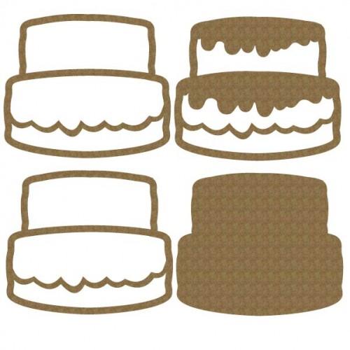Cake Shaker 2 - Shaker Sets