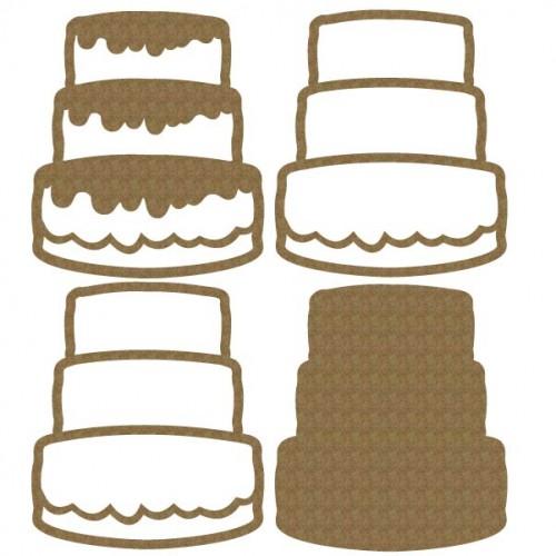 Cake Shaker 3 - Shaker Sets