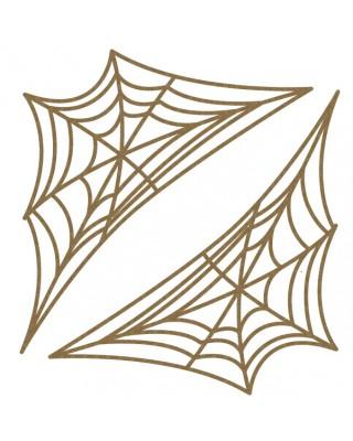 Corner Spider Webs