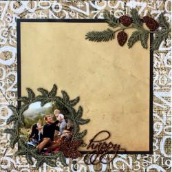 Pine Needle Frame