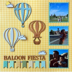Hot Air Balloon Set 2