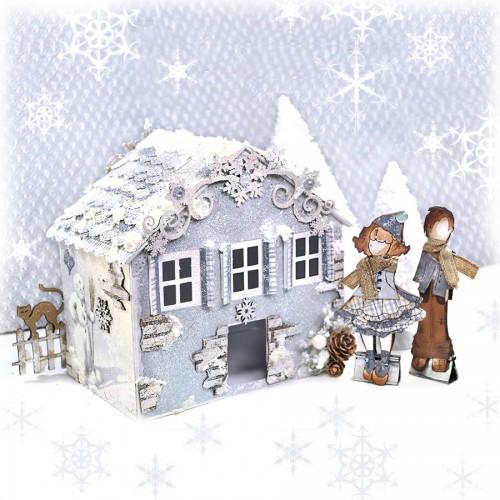 Snowflake Page Corner Set - Photo / Page Corners