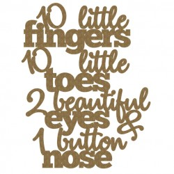 10 little ..quote