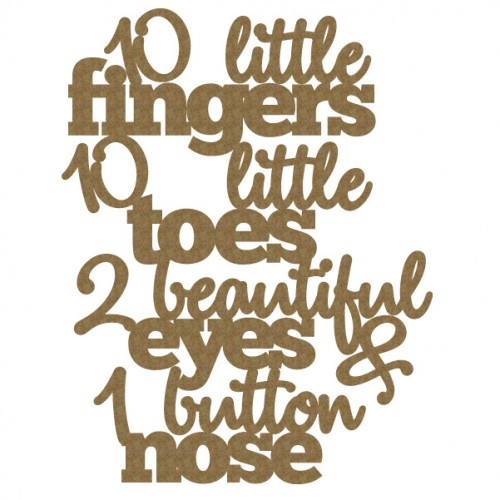 10 little ..quote - Words