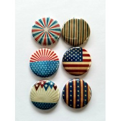 Vintage Patriotic Flair