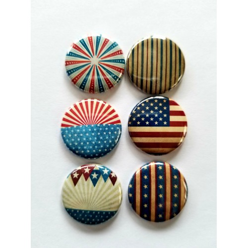 Vintage Patriotic Flair - Flair