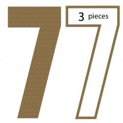 Number 7 Shaker Set