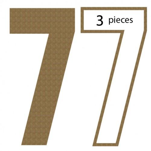 Number 7 Shaker Set - Shaker Sets