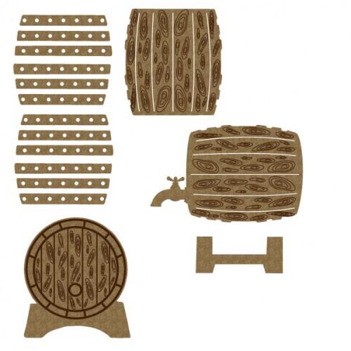 Barrels - Chipboard