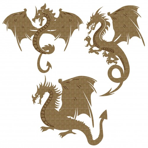 Dragon Set 2 - Fantasy