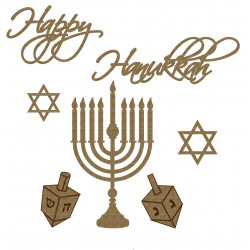 Happy Hanukkah Set