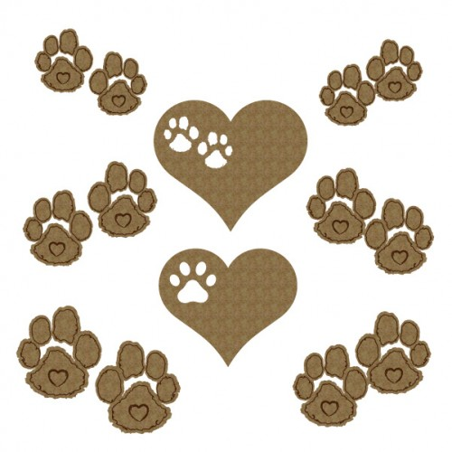 Paw Prints - Animals
