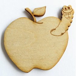Apple Worm (set of 3)