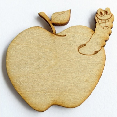 Apple Worm (set of 3) - School