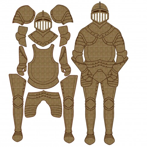 Knights Armor Set - Chipboard