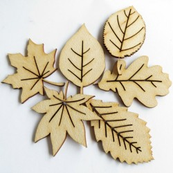 Autumn Leaves (Set of 6)