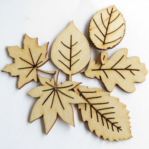 Autumn Leaves (Set of 6) - Fall