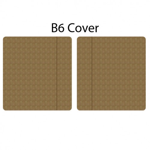 B6 Planner Cover - Journal / Planner Covers