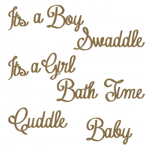 Baby Time Word Set - Words