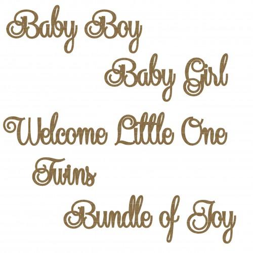 Baby Word Set - Words