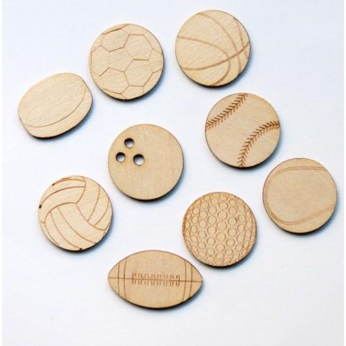 Balls - Wood Veneers