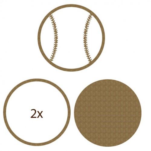 Baseball Shaker Set - Shaker Sets