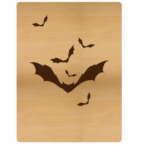 "Bats Card - 3""x4"" Cards"