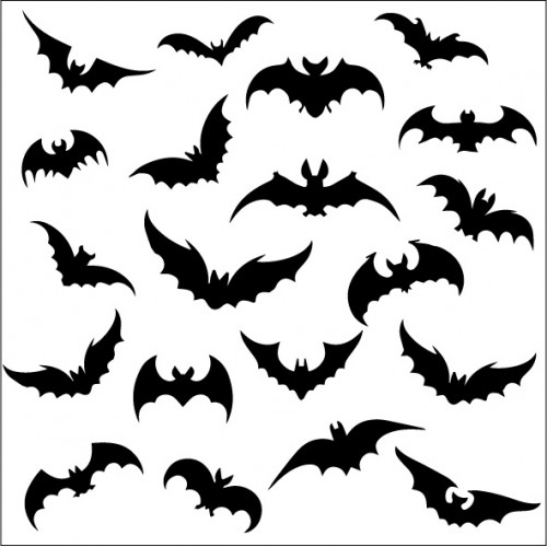 Going Batty  Stencil - Stencils