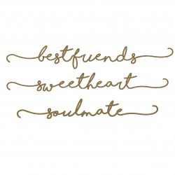 Best Friends Border Words