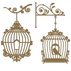 Bird Cage Set 1
