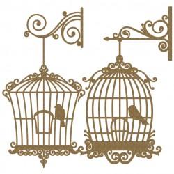 Bird Cage Set 2