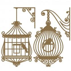 Bird Cage Set 3