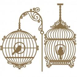 Bird Cage Set 4