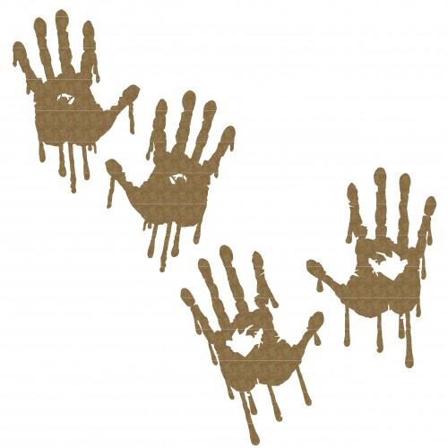 Bleeding Hand Set - Halloween
