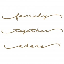 Family Word Border Set