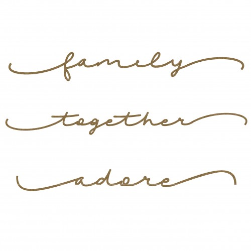 Family Word Border Set - Words