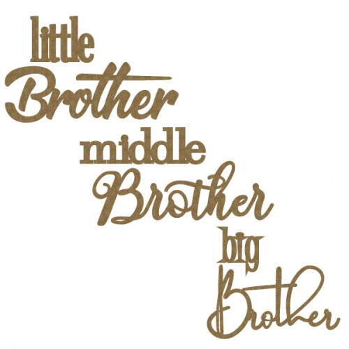 Brother Word Set - Words