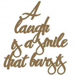 A laugh .....quote