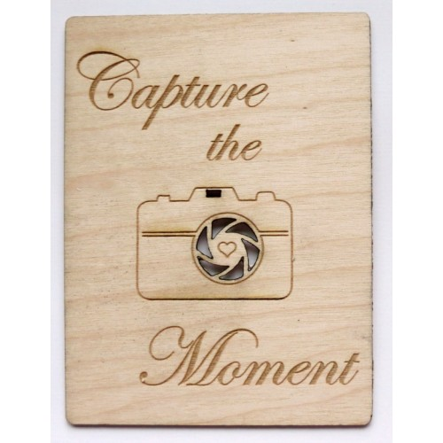 "Capture the Moment - 3""x4"" Cards"