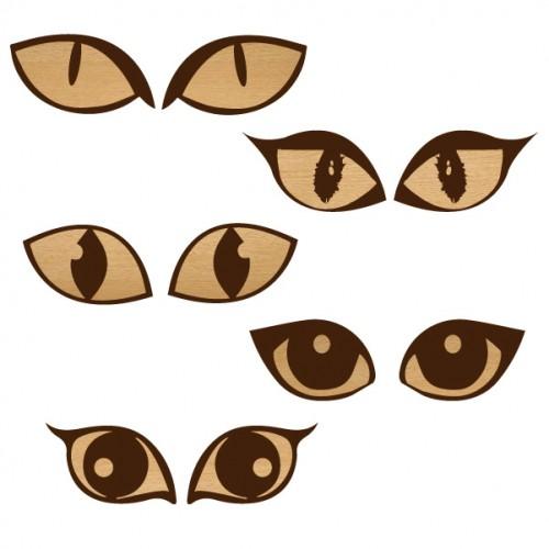Cat Eyes - Wood Veneers