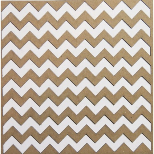 "Chevron Panel - 6"" x 6"" Lattice Panels"