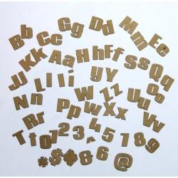 Chunky Alphabet Set