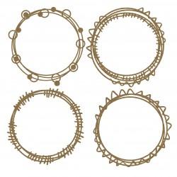 Circle Doodle Frames