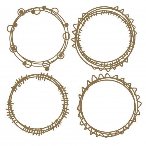 Circle Doodle Frames - Shapes