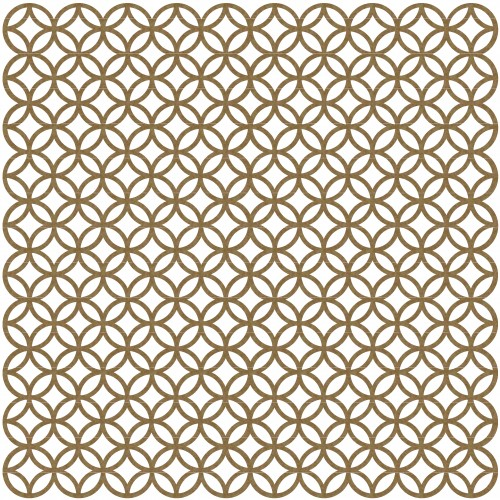 Circle Lattice - 12 x 12 Chipboard Panels