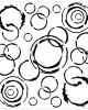 Distressed Circle Stencil - Stencils